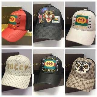 Gucci High end Net cap unisex with box