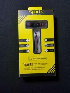 Wireless Earphone Bluetooth Sport