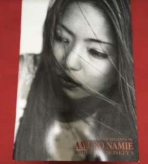 安室奈美惠 96 演唱會 場刊 Super monkey