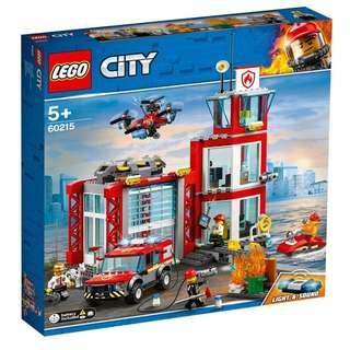 LEGO 60215 City Fire Station - 可門市或地鐵交收或順豐到付
