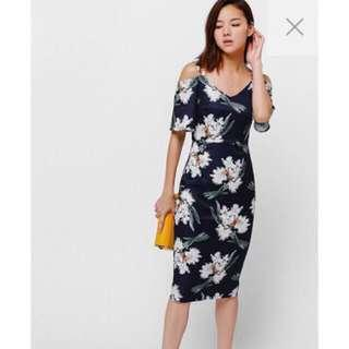 NEW LOVE BONITO Beasie Dress Floral