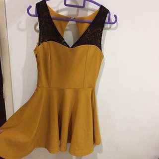 BN Mustard quality skater dress