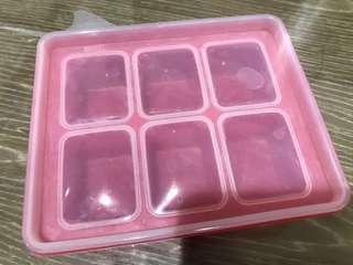 韓國副食品分裝盒