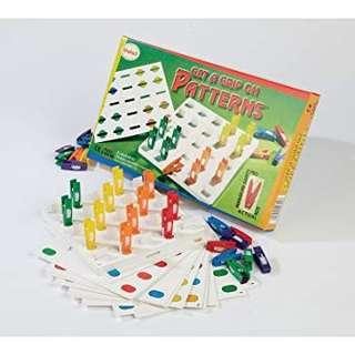Get a Grip on Patterns Game (3+)