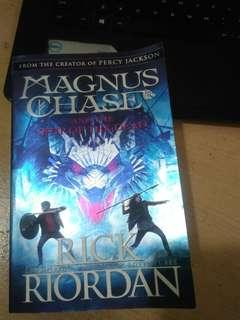 Magnus chase and percy Jackson