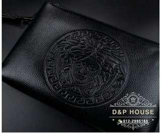 Authentic Versace Clutch Bag