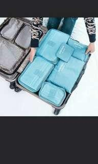 Promo Sales 6 In 1 Travel Organization Pouch/Bag