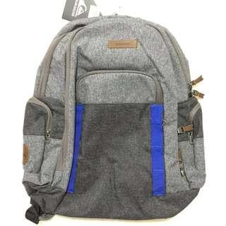 NEW Authentic Gray Quiksilver Backpack