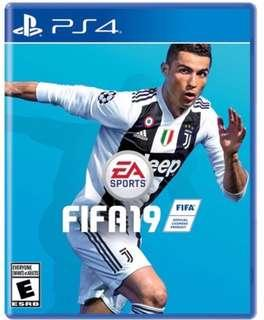 PS4 Game FIFA 19 Standard Edition with DLC (Brand New Sealed)