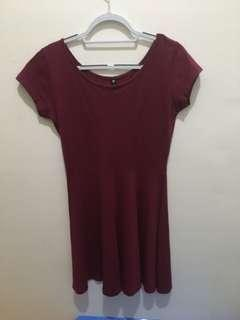 Cotton On Red Dress Size M