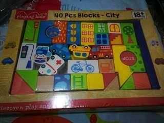 40 pcs blocks-city