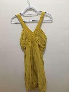 Yellow dress Size 9/10