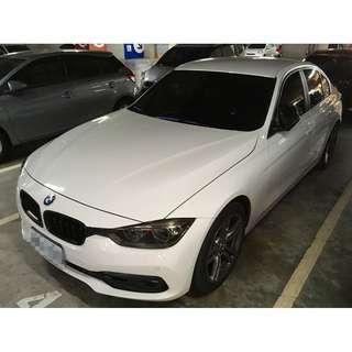 BMW 318D 2013 車況 里程保證 附檢定表