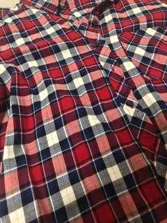 🚚 H&M Long sleeve checkered top