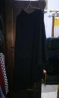 Khimar syari hitam