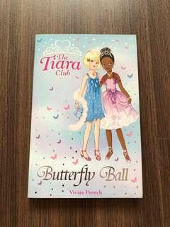 🚚 The Tiara Club Butterfly Ball Book
