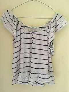 Stripe Top mango