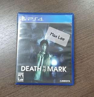 CD Game PS4 : Death Mark