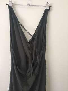 Khaki Formal Dress