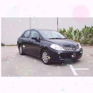 🚩Private Hire Ready - Nissan Latio (Non COE)