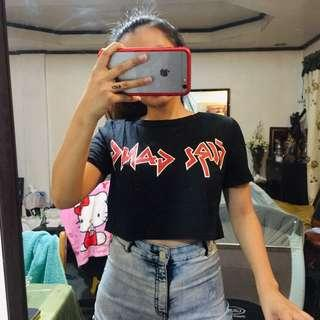 Girl Gand Cropped Top