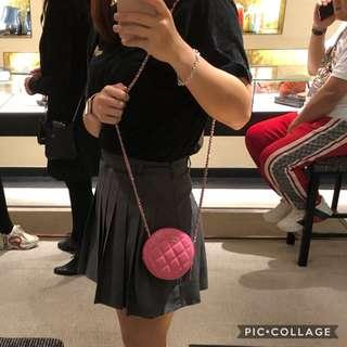 Chanel 小圓餅 Clutch with chain