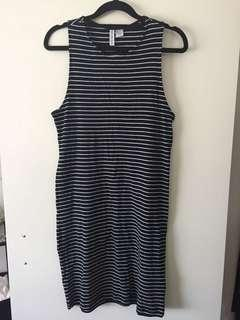 Casual Stripped Dress