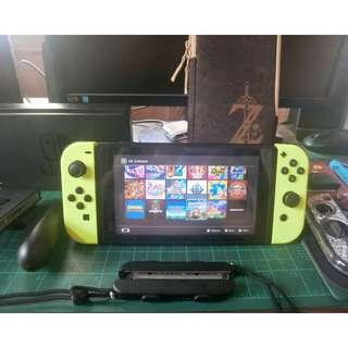 Nintendo Switch Complete with many Games