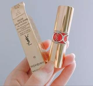 YSL Rouge Volupte Shine oil-in-stick 12 唇膏