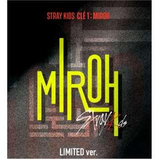 Stray Kids - [Clé 1 : MIROH] (Limited Edition)