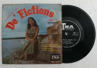 """EP De Fictions 7"""" 45 rpm"""