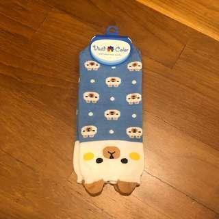Blue Cute Socks