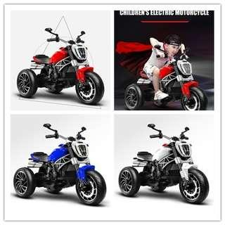 Children's electric motorcycle tricycle can sit 1-6 years old-intl