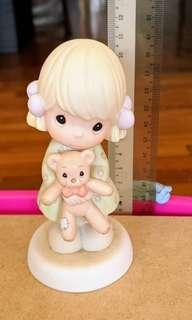 "Precious Moments Figurine - ""Life's beary precious with you"""