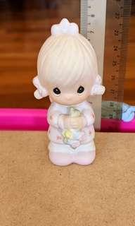 "Precious Moments Figurine - ""Flower Girl"""