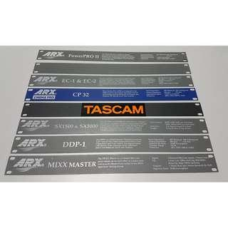 """19"""" Rack Mounting Plate"""