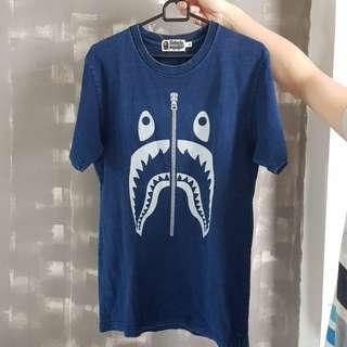 Bape shark navy