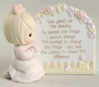 Precious Moments Figurine - Serenity Prayer Girl