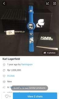 Karl lagerfield original