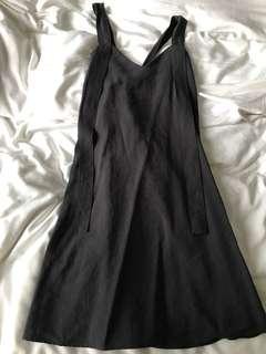 Asos back tie dress