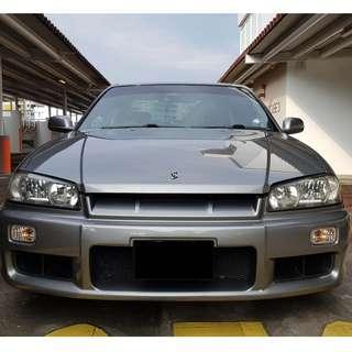 Nissan Skyline R34 GTT Auto