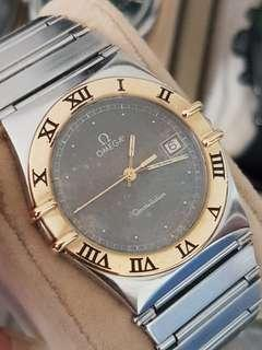 🚚 OMEGA constelation..ring 18k