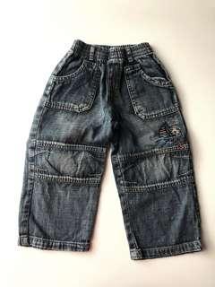 Celana Jeans panjang biru 2thn