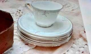 Never Used Royal Doulton Carnation Tea Set with Teapot