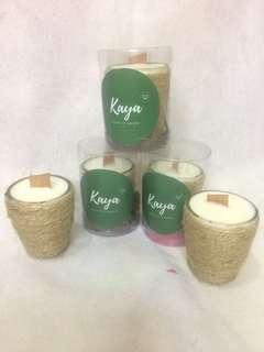 Scented candle lilin aromatherapy 48ml soy wax
