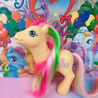🚚 正版 My Little Pony G3 2004's 小馬寶莉 彩虹小馬 古董玩具 Care Bears 彩虹畫家小馬
