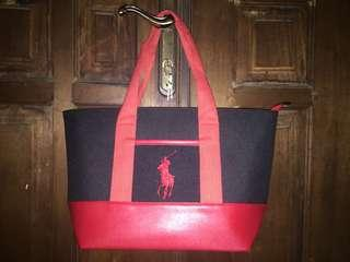 REPRICE/ Polo tote bag large