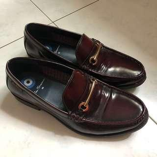 EURO40 Ben Sherman Loafers in Burgundy