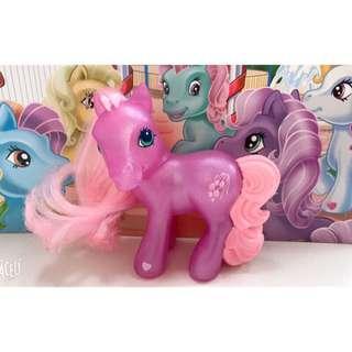 🚚 2005麥當勞限定商品 My Little Pony  G3 McDonalds HappyMeal 古董公仔 彩虹小馬