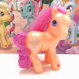 🚚 2005年 麥當勞限定 My Little Pony G3 McDonalds Happy Meal 古董公仔 彩虹小馬